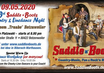 09.05.20203rd Country & Linedance Night